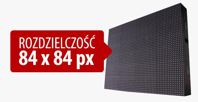 Najnowszy Ekran LED P5 INDOOR - OUTDOOR - rozdzielczość