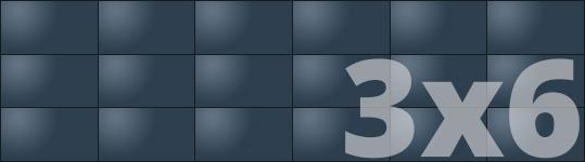 Telebim - monitory bezszwowe - videowall - panoramiczne 3x6